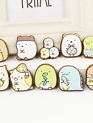 billiga -Klistermärken för kylskåp - Animal Wall Stickers Djur Kök / Barnrum