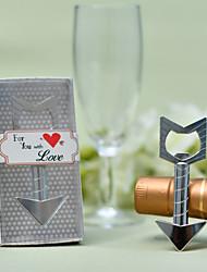 Недорогие -Не персонализированные Литой под давлением цинковый сплав Открывалки для бутылок Свадьба Бутылка Фавор