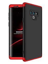 Недорогие -CaseMe Кейс для Назначение SSamsung Galaxy Note 9 Защита от удара Кейс на заднюю панель Однотонный Твердый ПК для Note 9 / Note 8