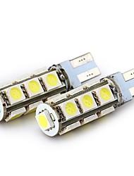 Недорогие -SENCART 4шт T10 / BA9S Мотоцикл / Автомобиль Лампы 2.5 W SMD 5050 160 lm 13 Светодиодная лампа Лампа поворотного сигнала / Задний свет / Внутреннее освещение Назначение