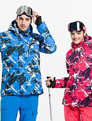 Недорогие -Vector Жен. Лыжная куртка С защитой от ветра, Дожденепроницаемый, Теплый Катание на лыжах / Отдых и Туризм / Сноубординг Полиэфир Жакет / Пуховики / Верхняя часть Одежда для катания на лыжах / Зима