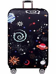 Недорогие -Полиэстер Чехол для чемодана Молнии Черно-серый / Красно-черный / Небесно-голубой