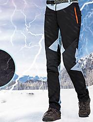 Недорогие -Жен. Лыжные брюки Водонепроницаемость, Сохраняет тепло, Водонепроницаемаямолния Катание на лыжах / Сноубординг / Зимние виды спорта 100% хлопковая синель, Polyster Снегурочка