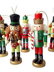 Недорогие -Подарки Праздник деревянный Квадратный Для вечеринок Рождественские украшения
