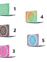 abordables -MacBook Etuis Mandala PVC pour MacBook Pro 13 pouces / MacBook Pro 15 pouces / MacBook Air 13 pouces