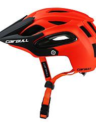 Недорогие -CAIRBULL Взрослые / Средний уровень Мотоциклетный шлем / BMX Шлем 18 Вентиляционные клапаны Легкий вес, Сетка от насекомых, Формованный с цельной оболочкой ESP+PC, ПК Виды спорта