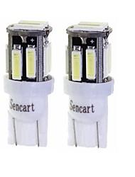Недорогие -SENCART 2pcs T10 / BA9S Мотоцикл / Автомобиль Лампы 3 W SMD 7020 160 lm 10 Светодиодная лампа Лампа поворотного сигнала / Мотоцикл / Внутреннее освещение Назначение