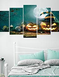 billiga -Dekrativa Väggstickers - Väggstickers i 3D Halloween / Högtid Vardagsrum / Barnrum