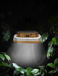 billige -BRELONG® 1pc 3 W LED-projektører Vandtæt / Solar Hvid 5 V Udendørsbelysning