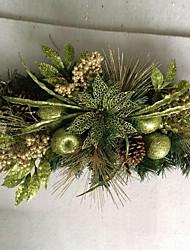 abordables -Guirlandes Vacances PVC arbre de Noël Soirée Décoration de Noël