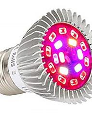 Недорогие -1шт 8 W 640 lm E26 / E27 Растущая лампочка 18 Светодиодные бусины SMD 5730 Полного спектра Тёплый белый / Белый / Красный 85-265 V