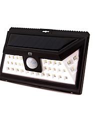 Недорогие -YWXLIGHT® 1шт 5 W Солнечный свет стены Водонепроницаемый / Работает от солнечной энергии / Монитор обнаружения движения Холодный белый 3.7 V Уличное освещение / двор / Сад 24 Светодиодные бусины