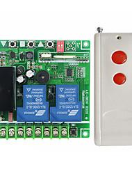 baratos -Interruptor de controle remoto do contator da CA do motor da bomba de água 220-380v jogo de controle remoto sem fio da chave de 1000 m 2