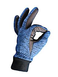 Недорогие -Зимние / Лыжные перчатки Муж. / Жен. Полный палец С защитой от ветра / Сохраняет тепло / Пригодно для носки Трикотаж Катание на лыжах / Снежные виды спорта / Сноубординг Осень / Зима