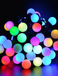 billiga -5m Ljusslingor 50 lysdioder Röd Party / Dekorativ / Bröllop 220-240 V 1set