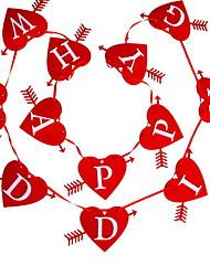 Недорогие -Новогодние флажки Праздник Нетканый материал куб Оригинальные Рождественские украшения