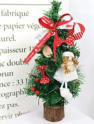 Недорогие -Новогодние флажки Праздник Ткань Мультипликация Рождественские украшения