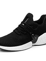 abordables -Homme Chaussures de confort Tricot Printemps Sportif / Décontracté Chaussures d'Athlétisme Course à Pied Massage Noir / Gris / Rouge