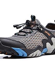Недорогие -Муж. Комфортная обувь Сетка Лето Спортивные / На каждый день Спортивная обувь Для плавания / Дышащая спортивная обувь Дышащий Коричневый / Синий / Хаки