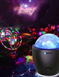 abordables -lampe de projection brelong musique étape de induction boule magique 1 pc