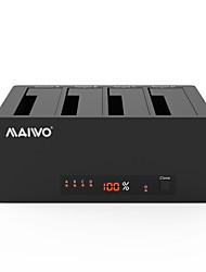 Недорогие -MAIWO USB 3.0 в SATA 3.0 Док-станция для внешнего жесткого диска Резервная память / Автоматическое конфигурирование / со светодиодным индикатором / Поддержка автономного копирования 40000 GB K3084A