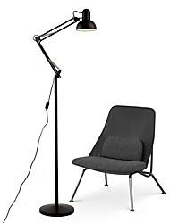 Недорогие -металлический / Современный Подвеска / Регулируется Напольная лампа Назначение Спальня / Офис Металл 85-265V