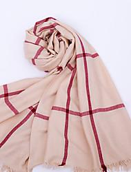 tanie -Brzdąc Dla dziewczynek Podstawowy Solidne kolory Szaliki Rumiany róż / Żółtobrązowy / Szary Jeden rozmiar