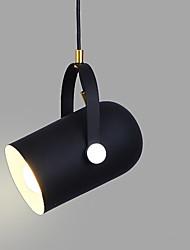 abordables -Nouveauté Lampe suspendue Lumière d'ambiance Finitions Peintes Aluminium Ajustable, Design nouveau 110-120V / 220-240V Ampoule non incluse / E26 / E27