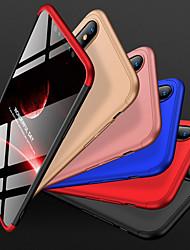 Недорогие -Кейс для Назначение Apple iPhone XS Max Защита от удара / Матовое Кейс на заднюю панель Однотонный Твердый ПК