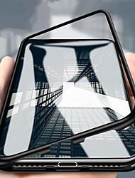 Недорогие -Кейс для Назначение Huawei Huawei P20 / Huawei P20 Pro / Huawei P20 lite Защита от удара Кейс на заднюю панель Однотонный Твердый Закаленное стекло