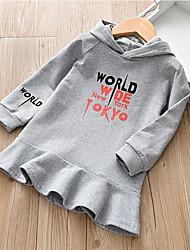 3c5c5d31817 Χαμηλού Κόστους Βρεφικά φούτερ και φούτερ με κουκούλα-Μωρό Κοριτσίστικα  Ενεργό Στάμπα Μακρυμάνικο Μακρύ Πολυεστέρας
