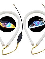 abordables -SO.K 2pcs Automatique Ampoules électriques 3 W SMD 3020 200 lm LED Feux de Circulation Diurnes Pour Universel Toutes les Années