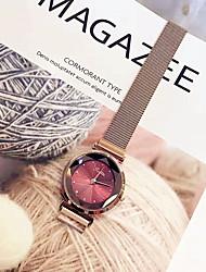 Недорогие -Жен. Нарядные часы Наручные часы Кварцевый Розовое золото Новый дизайн Повседневные часы Аналоговый Дамы Элегантный стиль минималист - Синий Темно-красный Хаки