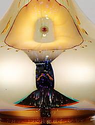 abordables -Traditionnel / Classique Décorative Lampe de Table Pour Chambre à coucher Verre 220-240V