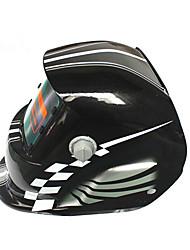 Недорогие -солнечная автоматическая потемнение сварочный шлем 107 контур