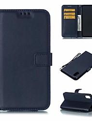 저렴한 -케이스 제품 Apple iPhone XR / iPhone XS Max 지갑 / 스탠드 전체 바디 케이스 솔리드 하드 PU 가죽 용 iPhone XS / iPhone XR / iPhone XS Max