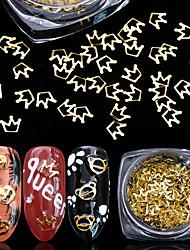 ieftine -100 pcs Multi Function / Creative Materiale ecologice Bijuterie unghii Pentru Vacanță Creative nail art pedichiura si manichiura Crăciun / Zilnic Modă
