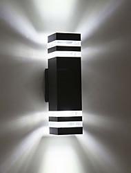 Недорогие -1шт 8 W LED прожекторы Водонепроницаемый Тёплый белый / Холодный белый 85-265 V Уличное освещение / двор / Сад 8 Светодиодные бусины