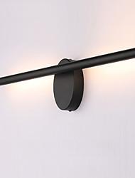 Недорогие -современные черные металлические настенные светильники 55 см 8w привели зеркало лампы освещения ванной комнаты ac85-265v