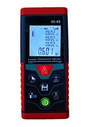 Недорогие -новый 40 м портативный лазерный дальномер высокоточный электронный уровень / многофункциональный с интеллектуальным вычислением