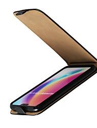 Недорогие -Кейс для Назначение Huawei P20 Pro / P20 lite со стендом / Флип Чехол Однотонный Твердый Настоящая кожа для Huawei P20 / Huawei P20 Pro / Huawei P20 lite / P10 Plus / P10