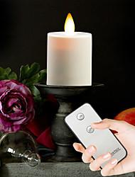 billige Originale lamper-Brelong LED Simuleringslys Flamme Lys med fjernkontroll 4 stk