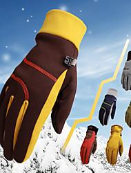 Недорогие -Зимние Муж. Жен. Полный палец Сохраняет тепло С защитой от ветра Дышащий Мотоспорт Микс Велосипеды для активного отдыха Пешеходный туризм