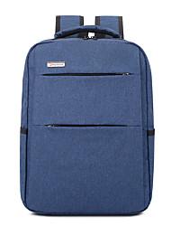 abordables -Homme / Unisexe Sacs Tissu Oxford sac à dos Fermeture Couleur unie Bleu / Noir / Gris