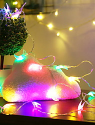 hesapli -10m Dizili Işıklar 100 LED'ler Çok Renkli Dekorotif 220-240 V 1set