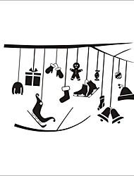 Недорогие -Декоративные наклейки на стены - Простые наклейки / Праздник стены стикеры Геометрия / Праздник Гостиная / Спальня