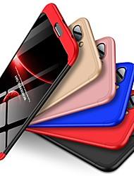 Недорогие -Кейс для Назначение Huawei Honor 10 Защита от удара / Матовое Кейс на заднюю панель Однотонный Твердый ПК для Huawei Honor 10