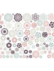 Недорогие -Декоративные наклейки на стены - Простые наклейки Рождество / Цветочные мотивы / ботанический Спальня / Столовая