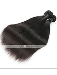 baratos -1 pacote Cabelo Brasileiro Liso Cabelo Natural Remy Extensões de Cabelo Natural 8-30 polegada Tramas de cabelo humano Macio / Melhor qualidade / Nova chegada Extensões de cabelo humano Mulheres