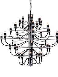 Недорогие -Ecolight™ Свеча-стиль Люстры и лампы Рассеянное освещение Электропокрытие Металл Творчество, Новый дизайн, Свеча Стиль 110-120Вольт / 220-240Вольт / E12 / E14 / FCC
